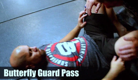 Affliction Tip Tuesday - Butterfly Guard Pass