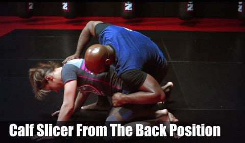 Affliction Tip Tuesday - Calf Slicer From The Back Position