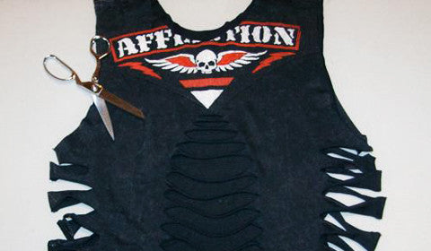 How-To Cut up your Affliction Tee