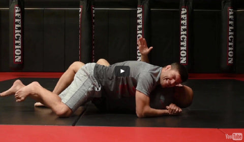 Affliction Tip Tuesday - Figure 4 Mount to Side Choke