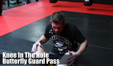 Affliction Tip Tuesday - Knee In The Hole Butterfly Guard Pass