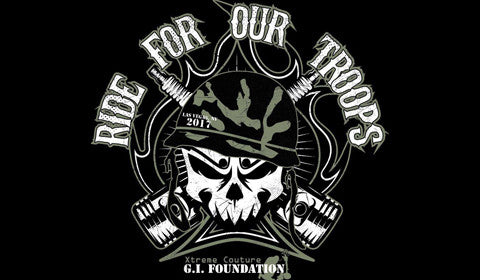 "Affliction // Xtreme Couture G.I. Foundation 9th Annual ""Ride for Our Troops"""