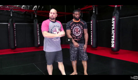 Affliction Tip Tuesday - Mat Return Takedown To Cradle & Finish With Rear Naked Choke