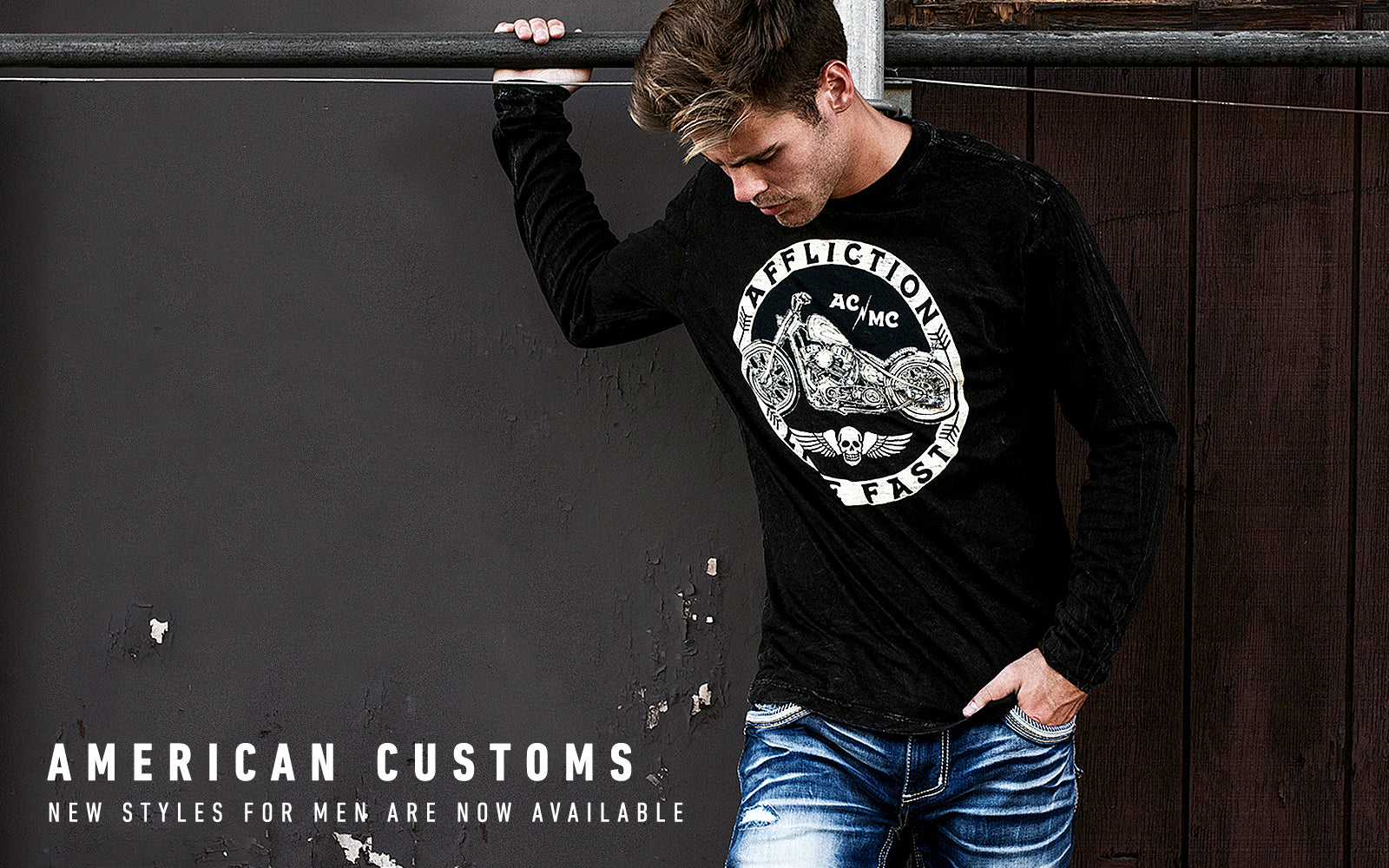 american customs new styles for men are now available