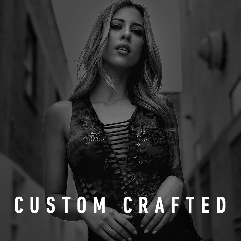 custom crafted