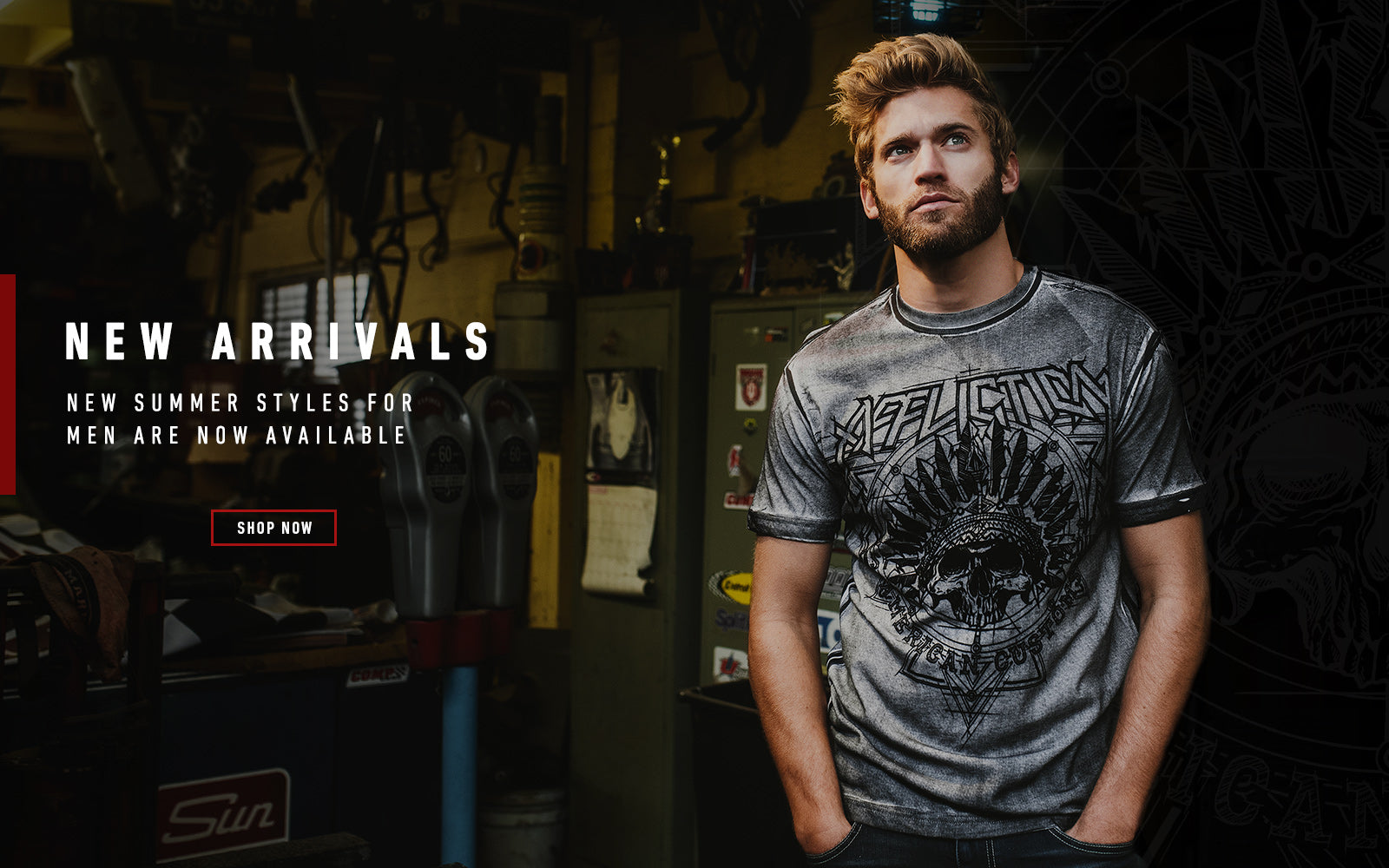 Affliction Alternative Clothing Unique Apparel Edgy Style