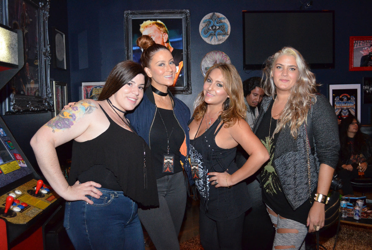 AFFLICTION TESTAMENT ALBUM LISTENING PARTY AT AFFLICTION STUDIOS