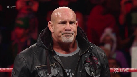 goldberg wwe raw