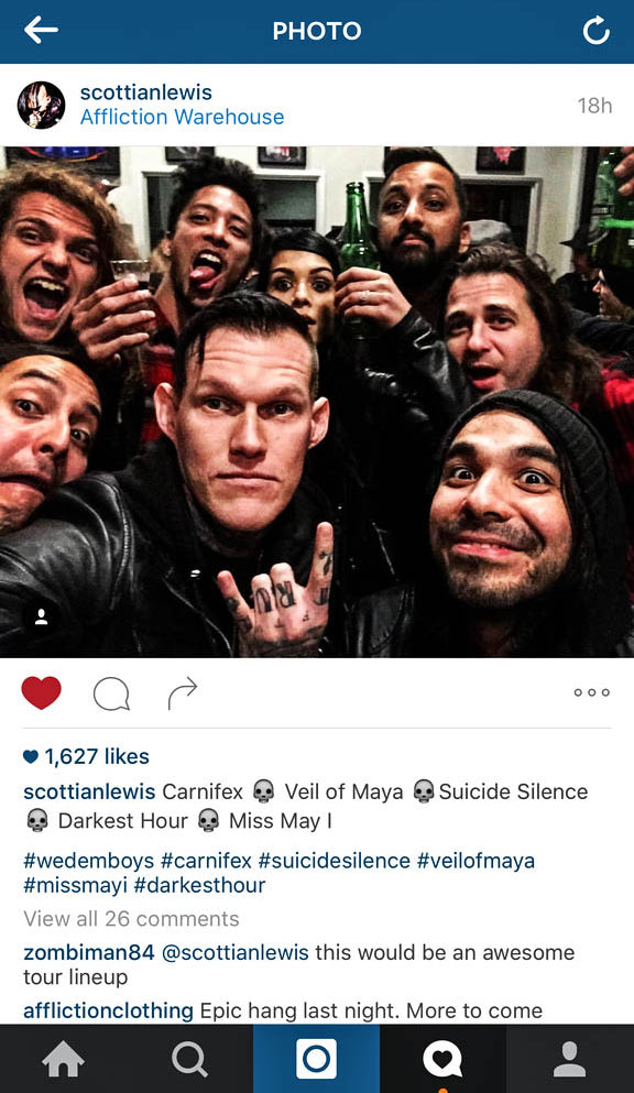 SCOTT IAN LEWIS SHARED THE INSANITY WITH THIS POST. TOTAL ENGAGEMENT, TOTAL BADASS EVENT.