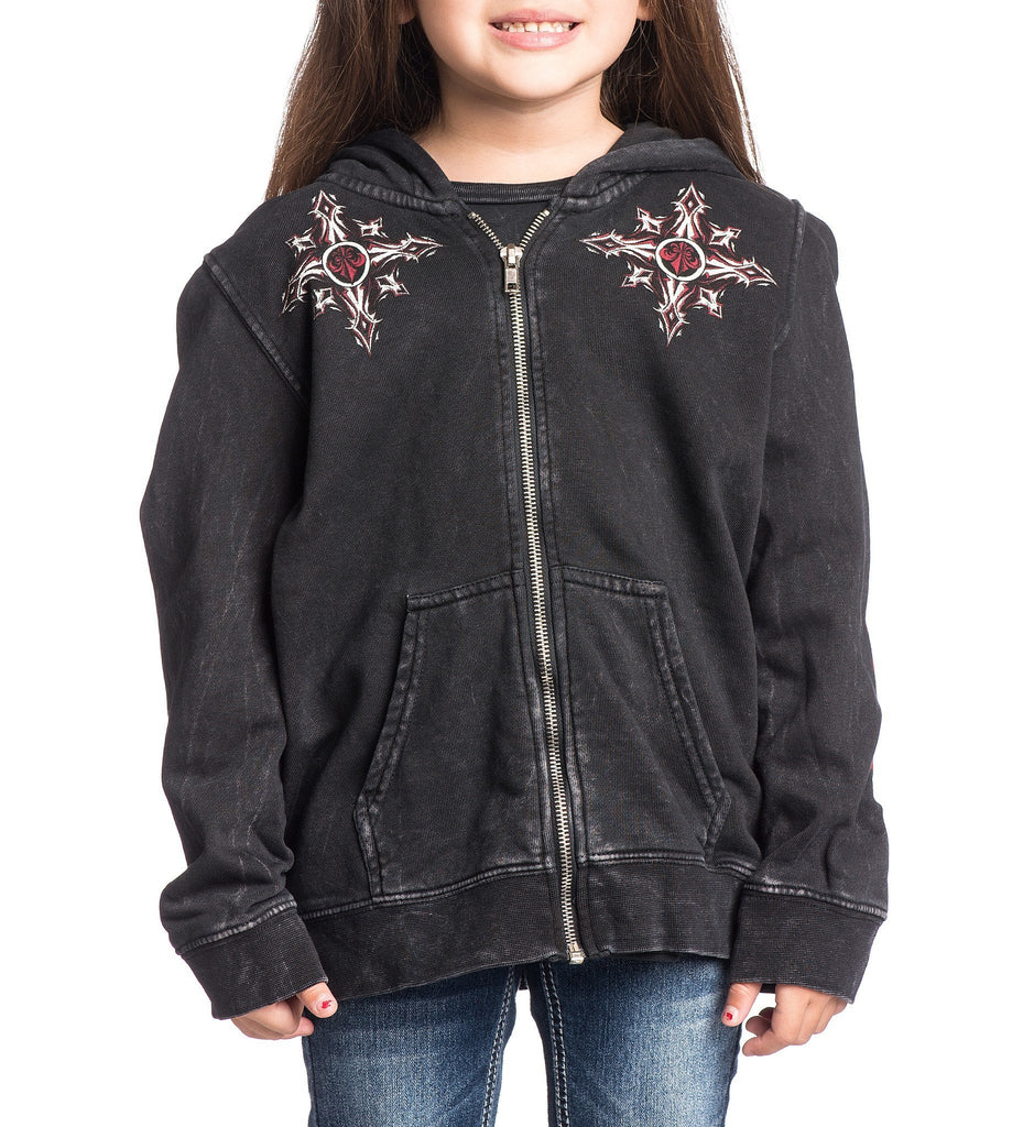 Kids Hooded Sweatshirts - Firefight Zip Hoodie - Toddler