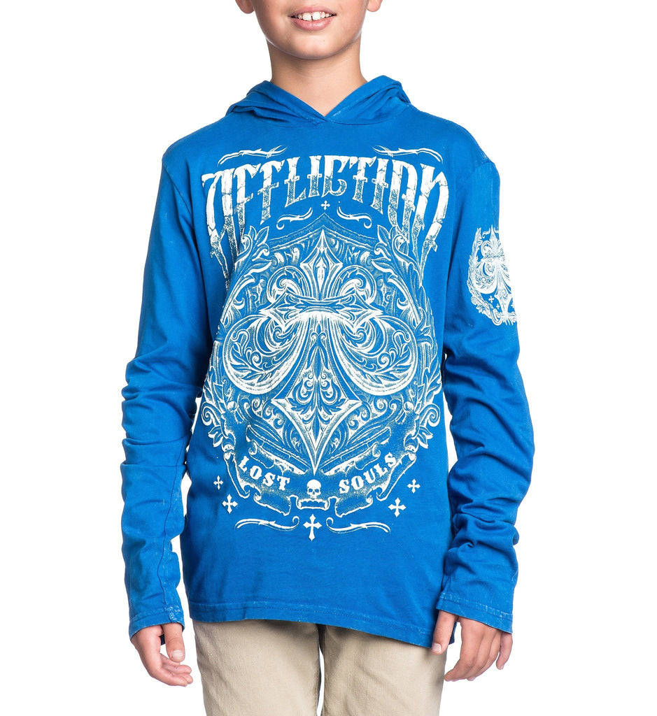 Kids Hooded Sweatshirts - Science - Youth