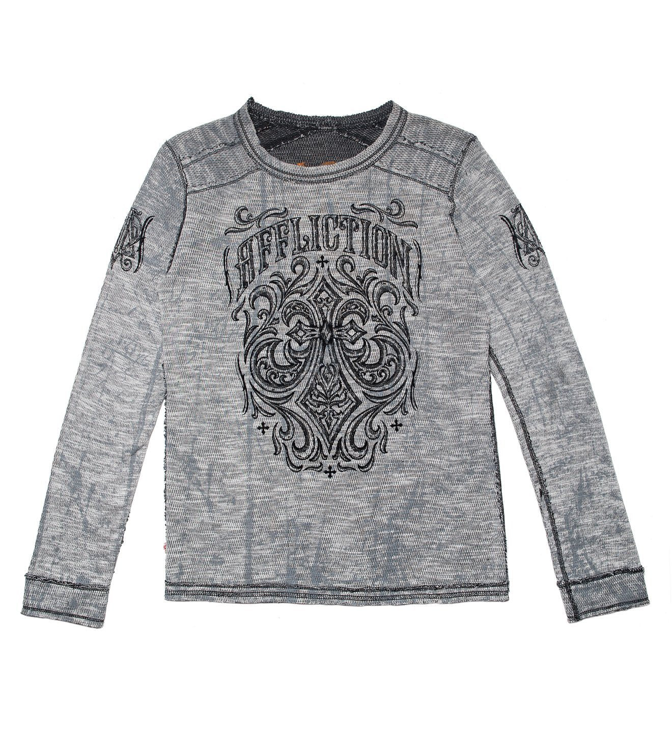 Ironside - Youth Reversible - Kids Long Sleeve Tees - Affliction Clothing