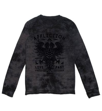 Value Freedom Dusk - Youth - Kids Long Sleeve Tees - Affliction Clothing