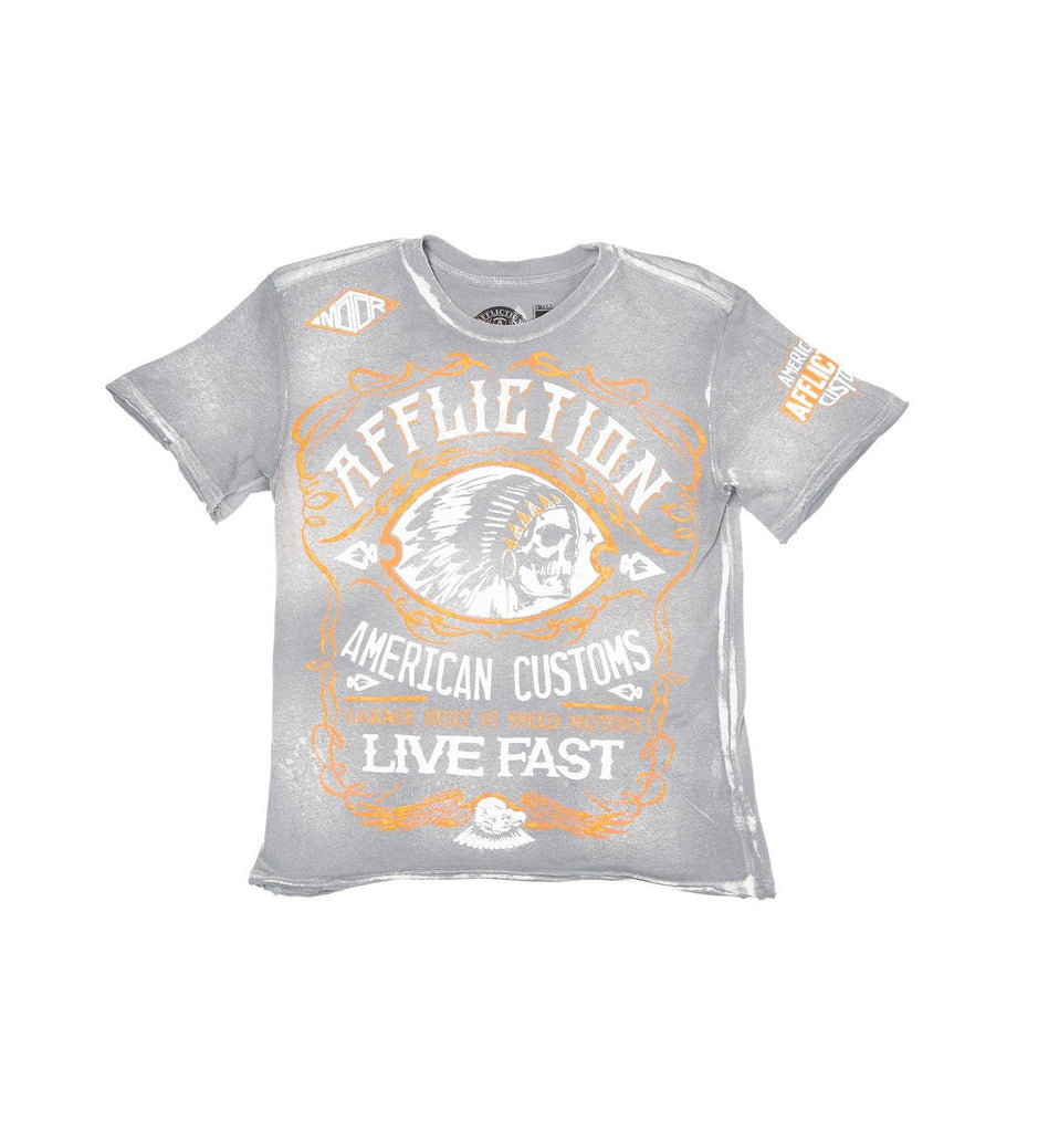 Kids Short Sleeve Tees - AC Moonshine - Youth