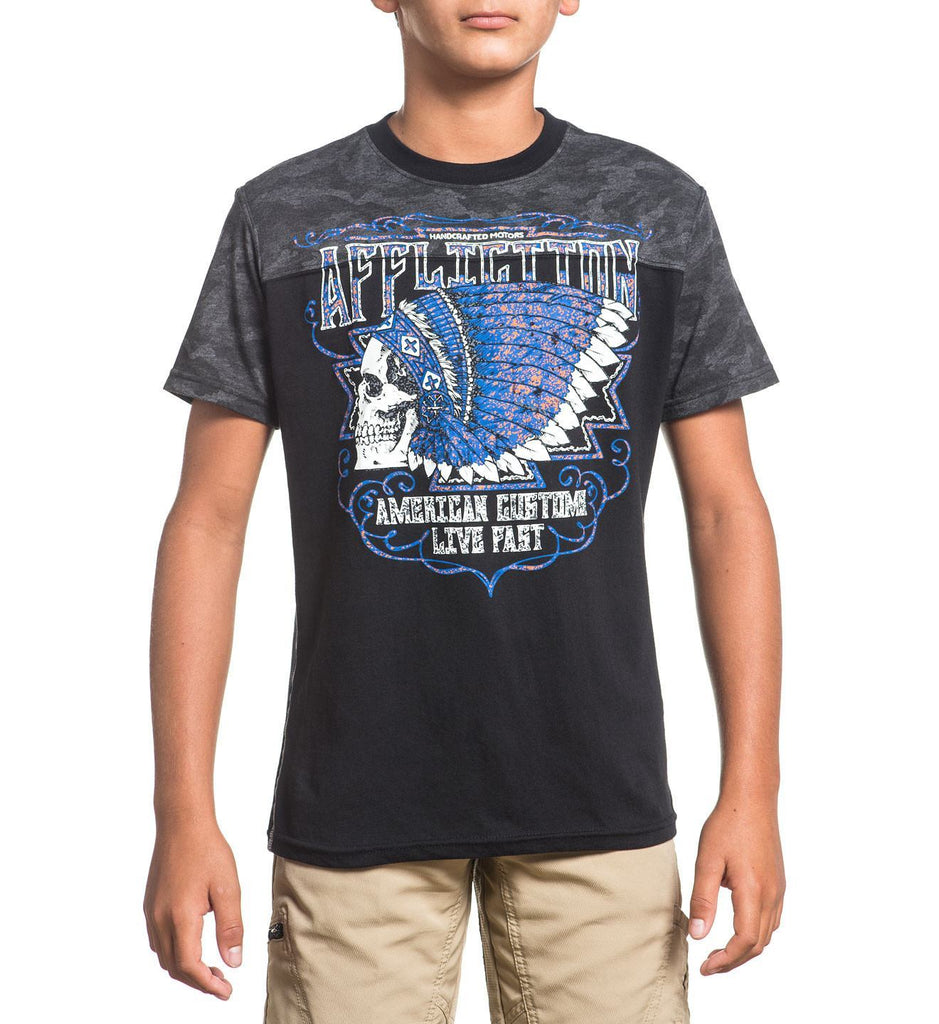 Kids Short Sleeve Tees - Ac Roam / Youth