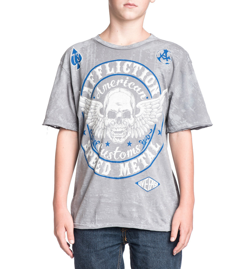 Kids Short Sleeve Tees - AC Syndicate - Youth