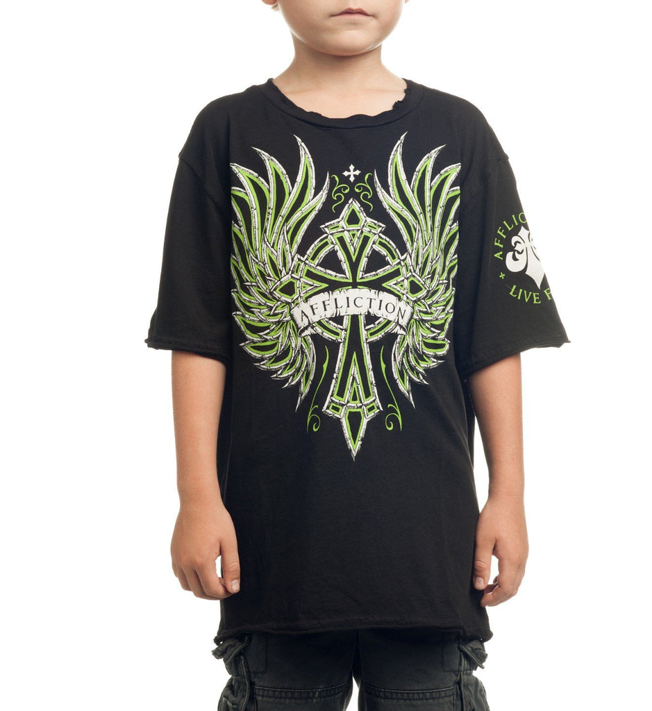 Kids Short Sleeve Tees - Chromatic - Youth