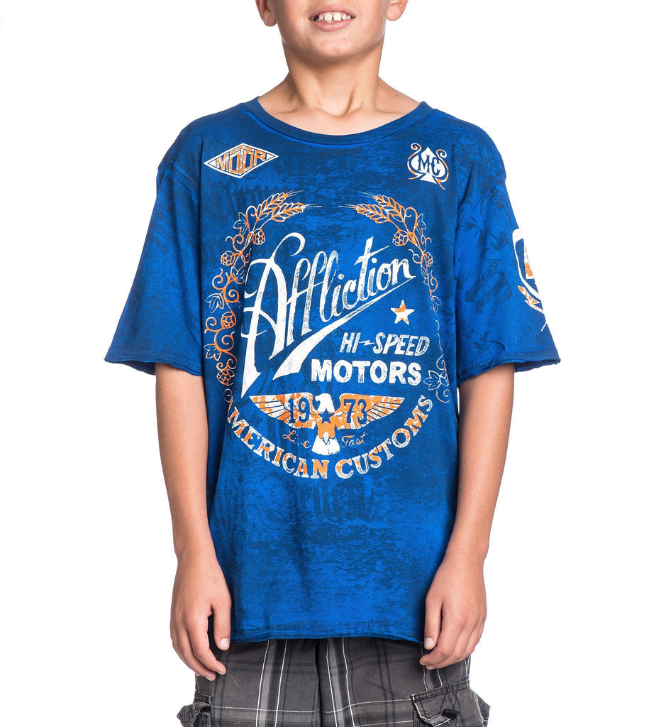 Kids Short Sleeve Tees - Fast Times - Youth