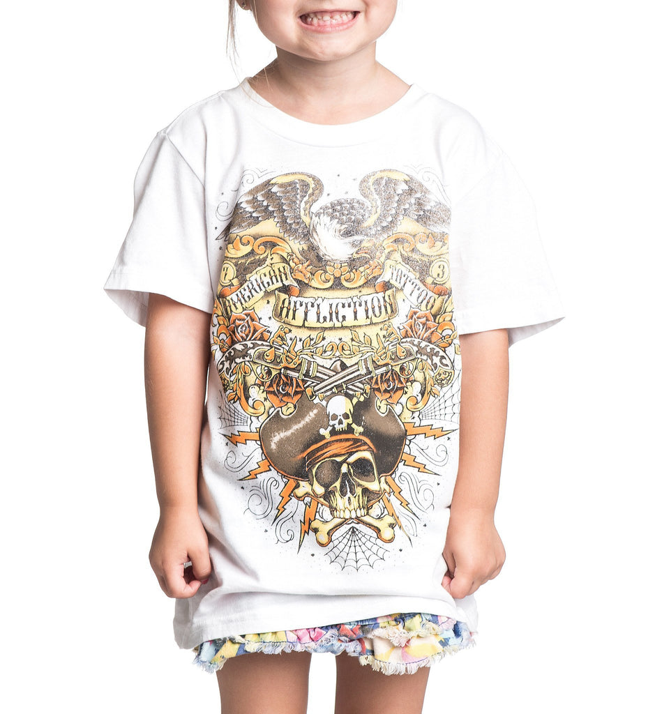 Kids Short Sleeve Tees - Liberate / Toddler