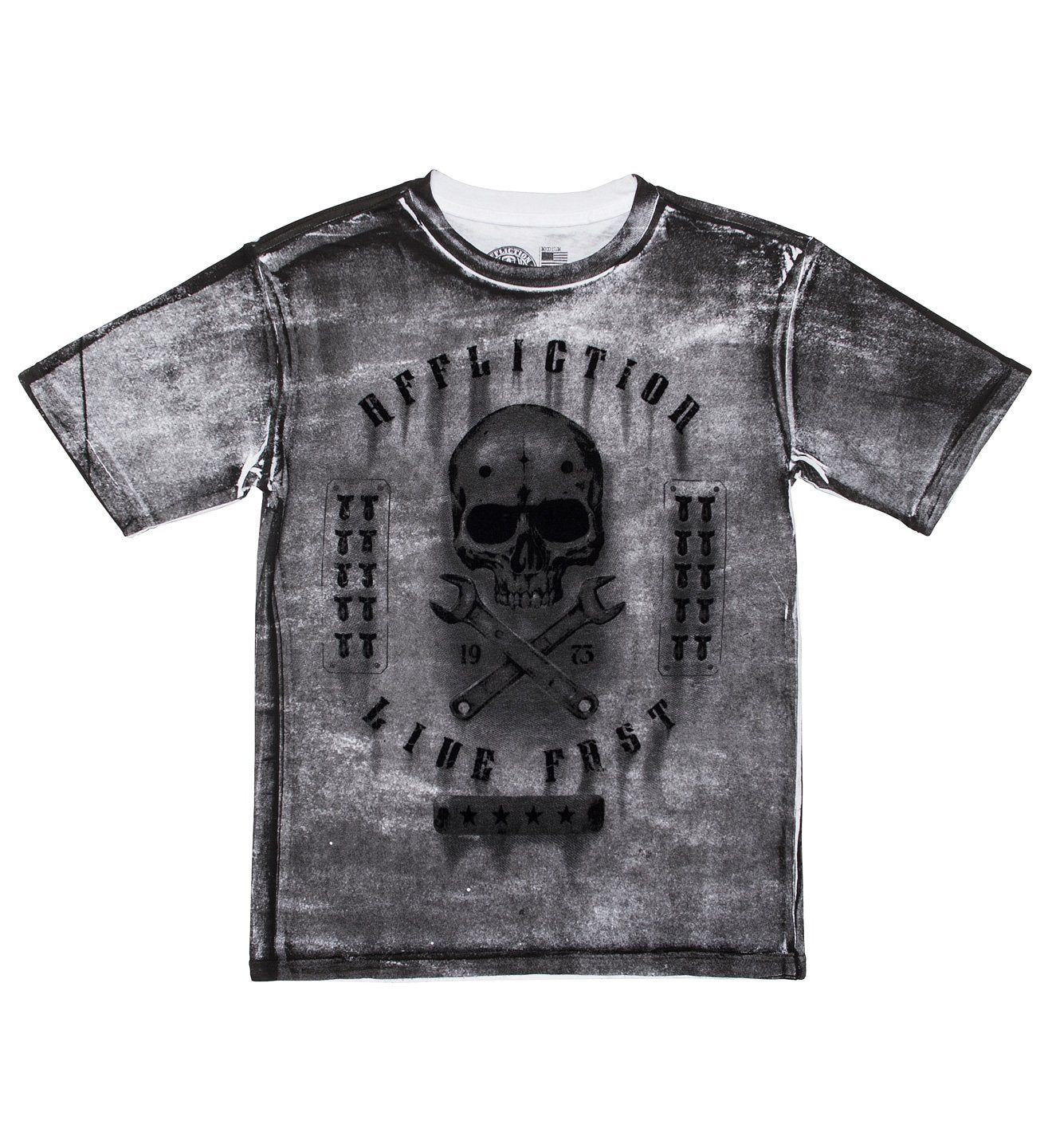 Kids Short Sleeve Tees - On The Tracks Dusk - Youth
