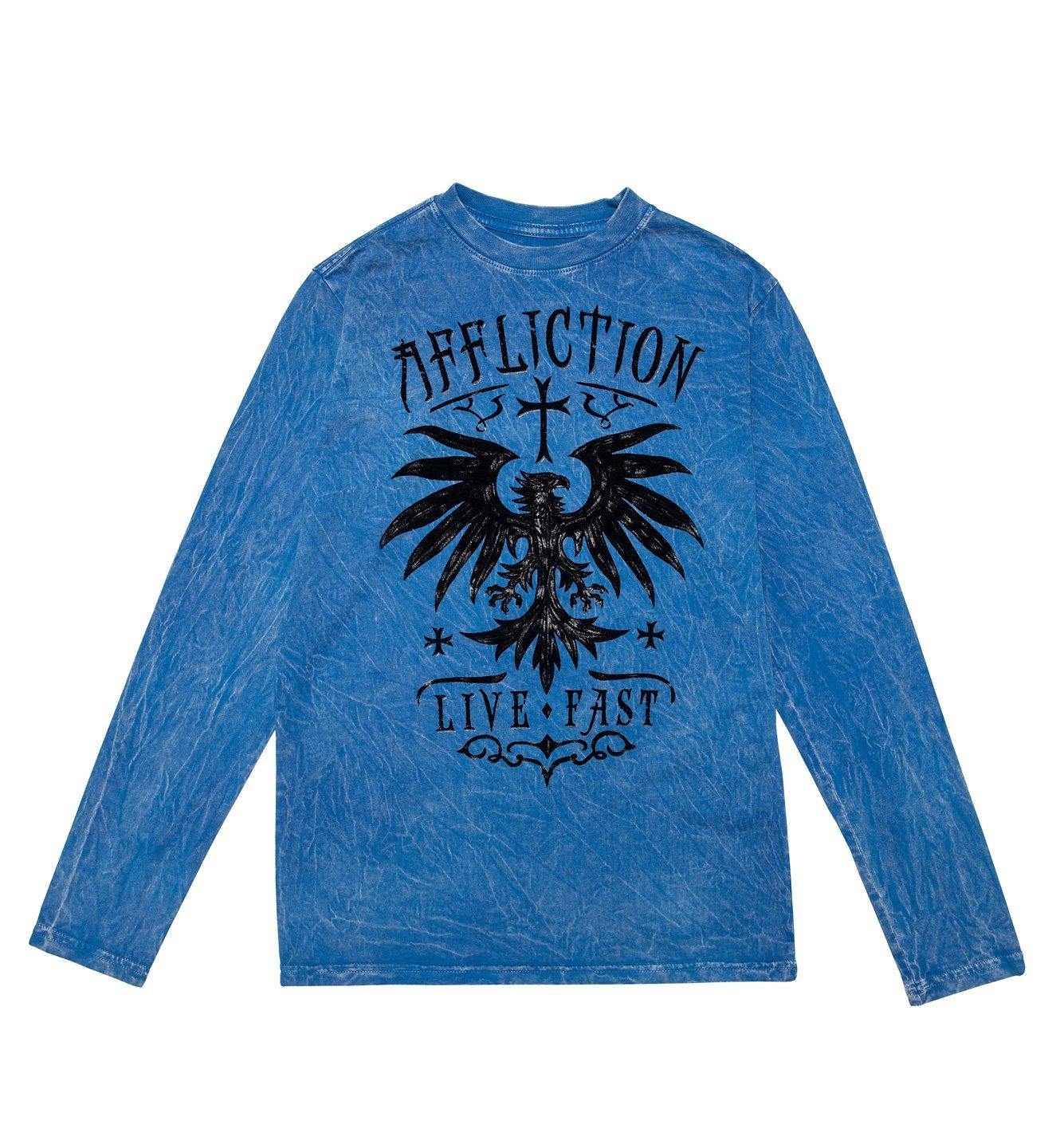 Rebel Rouser - Youth - Kids Long Sleeve Tees - Affliction Clothing