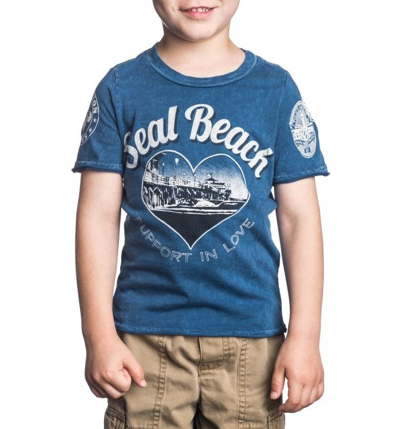 Kids Short Sleeve Tees - Seal Beach - Toddler