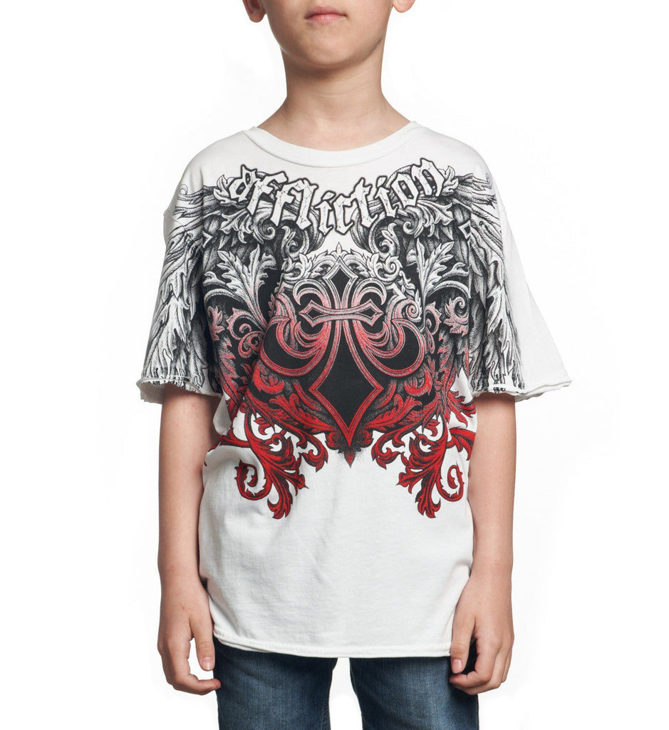 Kids Short Sleeve Tees - Step Of Honor - Youth