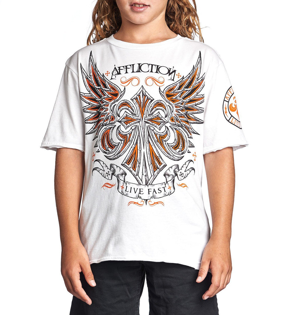 Kids Short Sleeve Tees - Vibration - Youth