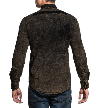 Mens Button Down Tops - Alchemy