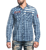 Mens Button Down Tops - American Brave