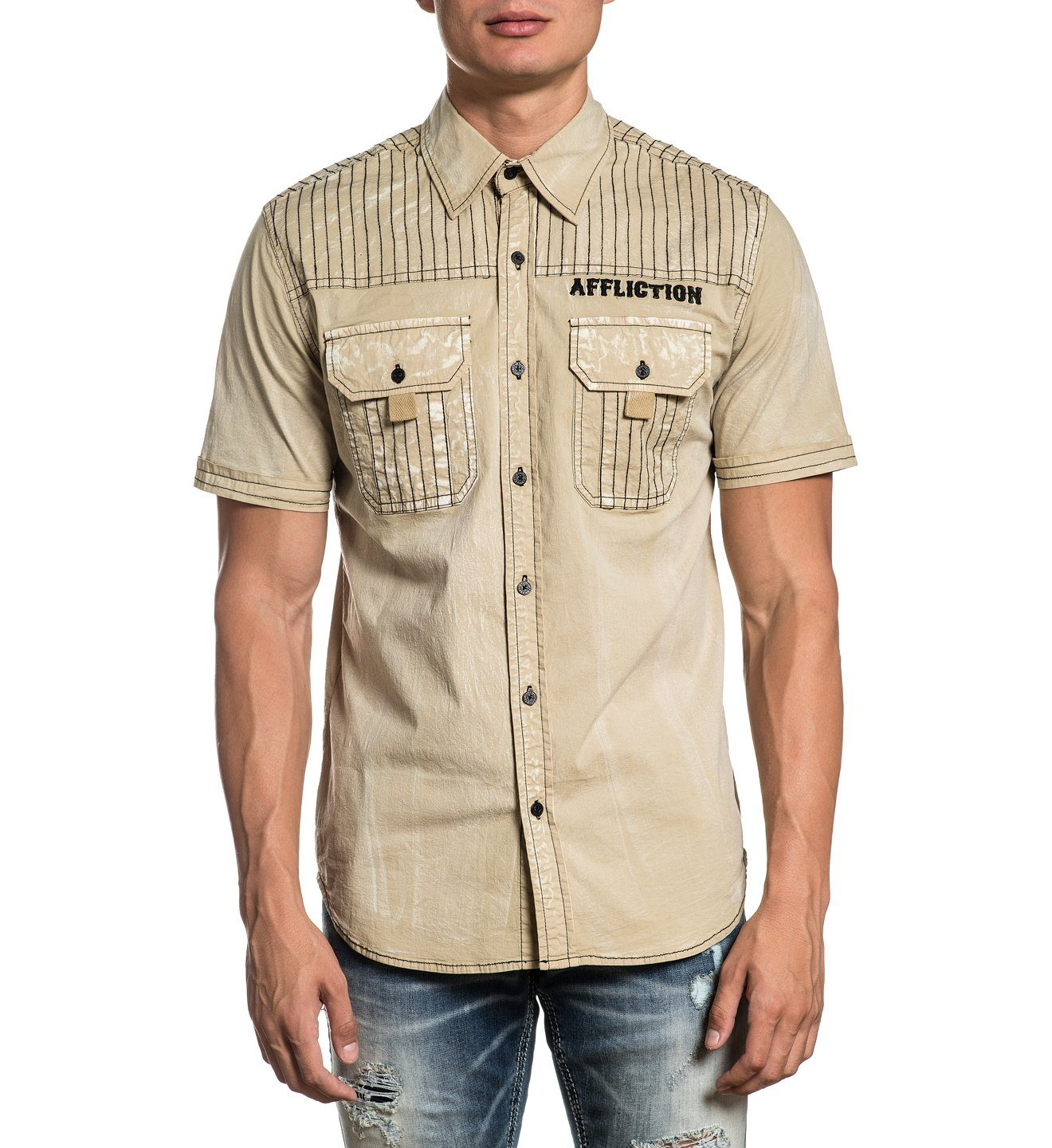 Mens Button Down Tops - Articulate