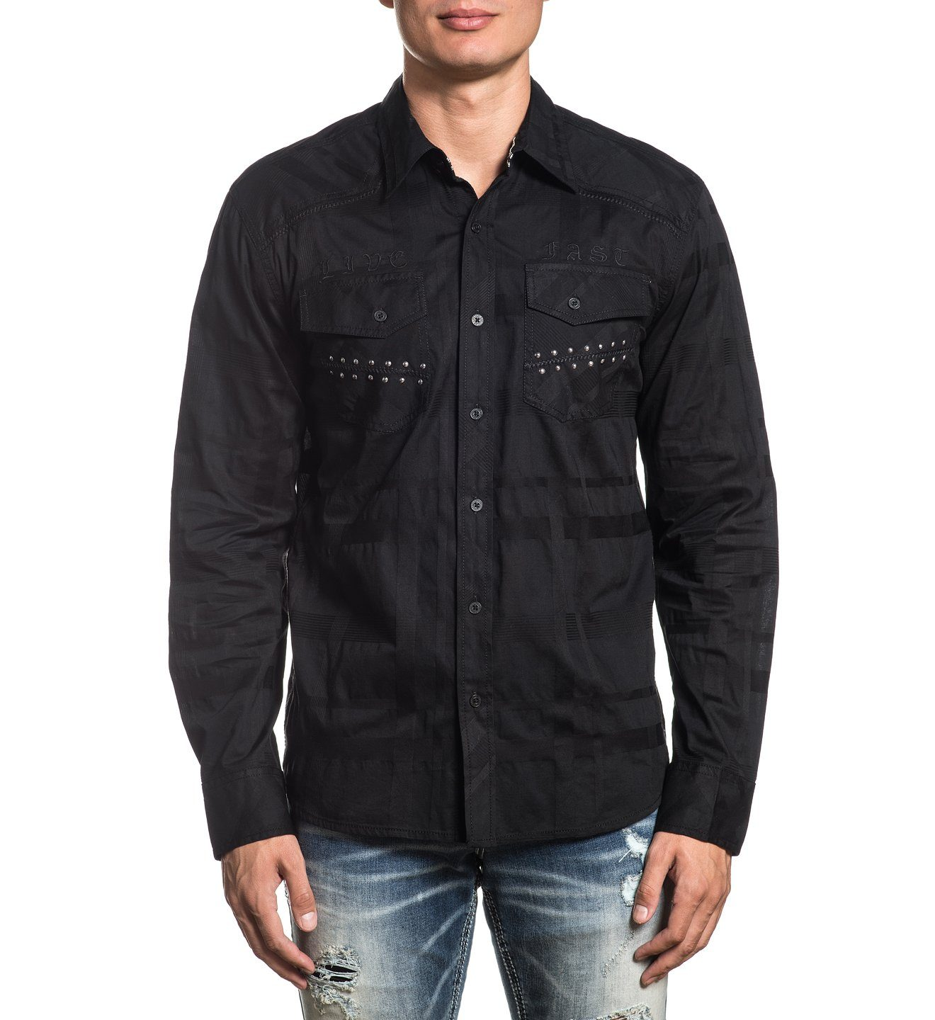 Mens Button Down Tops - Legacy