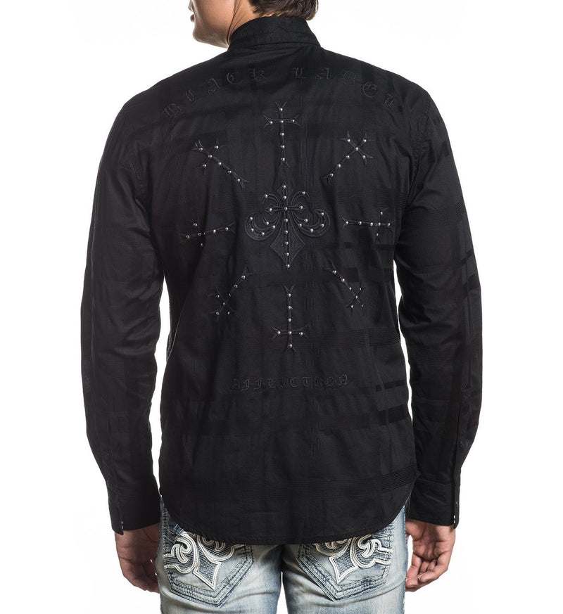 Legacy - Mens Button Down Tops - Affliction Clothing