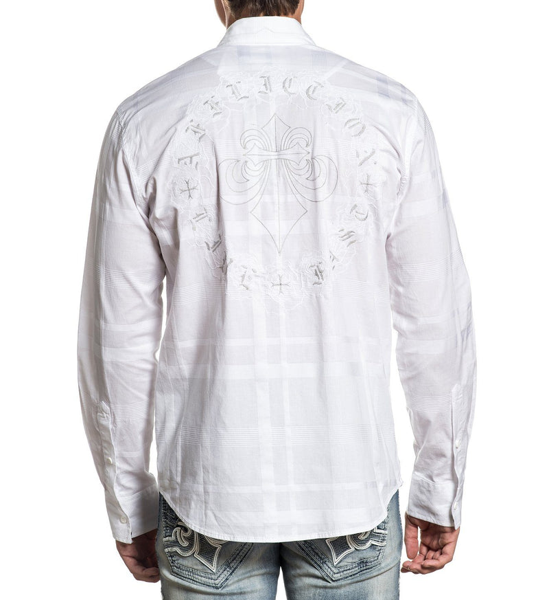 Peril - Mens Button Down Tops - Affliction Clothing