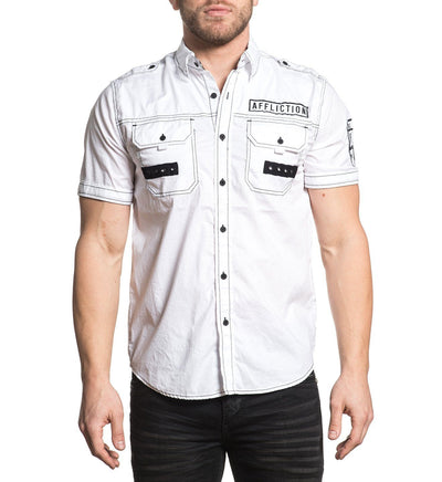 Reform - Mens Button Down Tops - Affliction Clothing