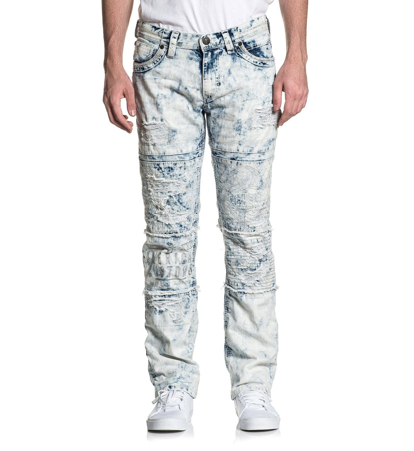Ace Fallen Nomad - Mens Denim Bottoms - Affliction Clothing