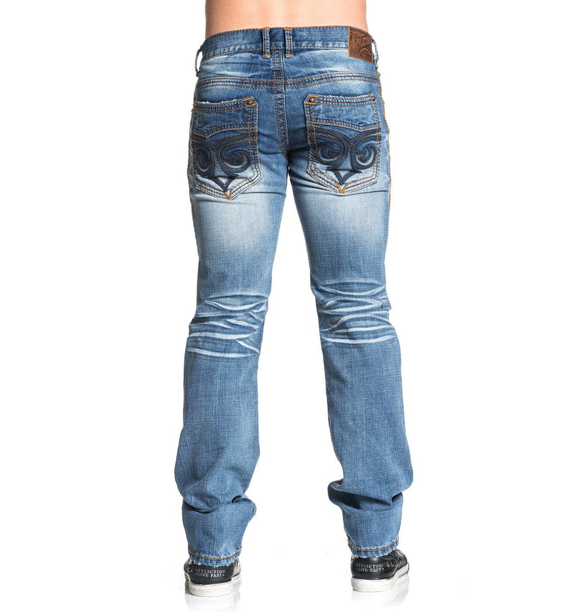Ace Fleur Bonneville - Mens Denim Bottoms - Affliction Clothing