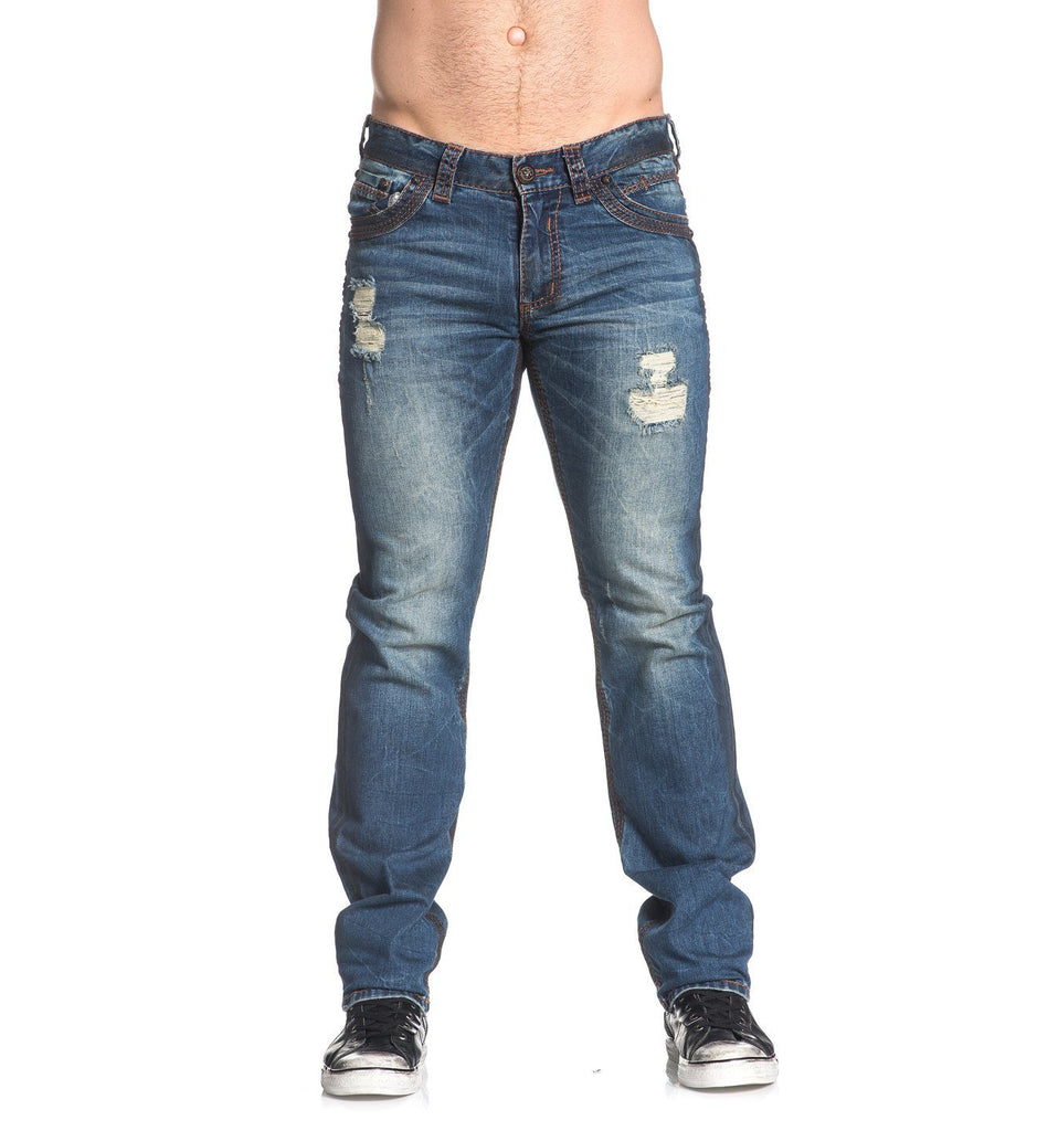 Mens Denim Bottoms - Ace Fleur Bradford
