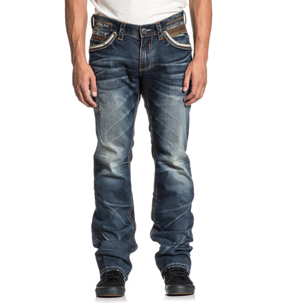 Ace Fleur Tarrant - Mens Denim Bottoms - Affliction Clothing
