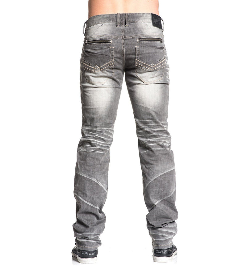 Ace Standard Norwalk - Mens Denim Bottoms - Affliction Clothing