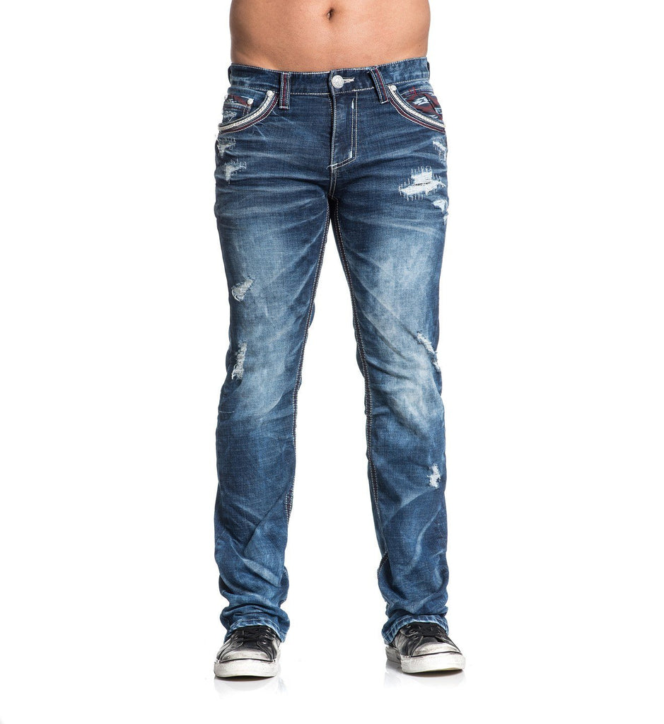 Mens Denim Bottoms - Blake Fleur