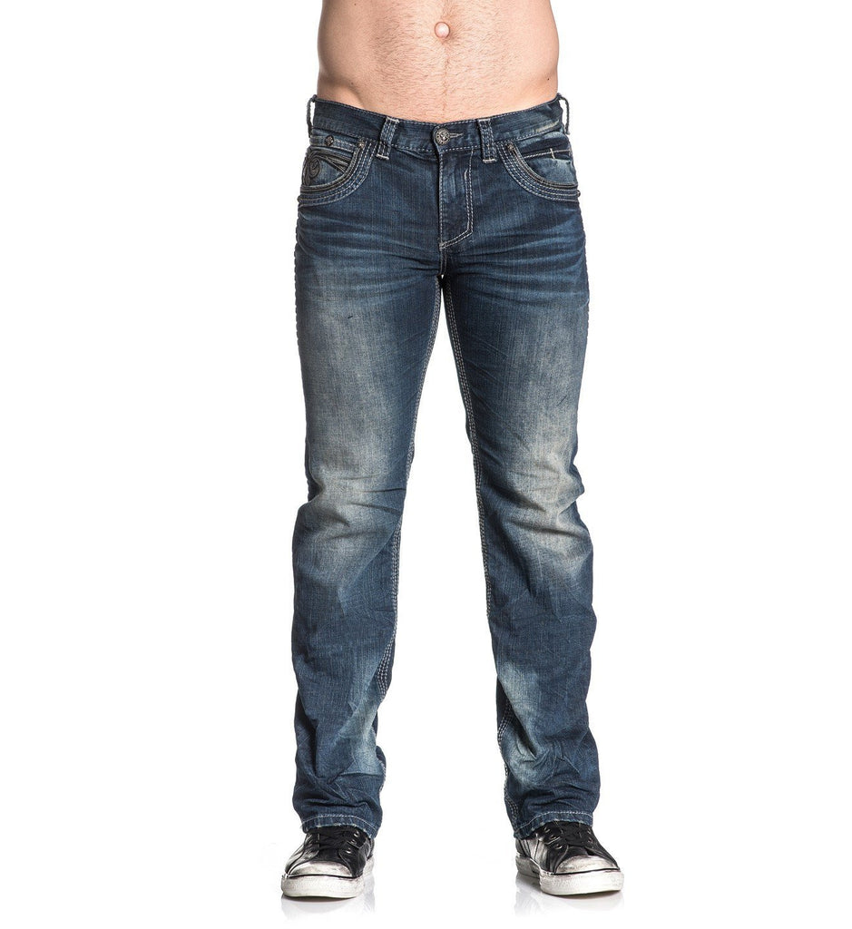 Mens Denim Bottoms - Blake Fleur Frisco