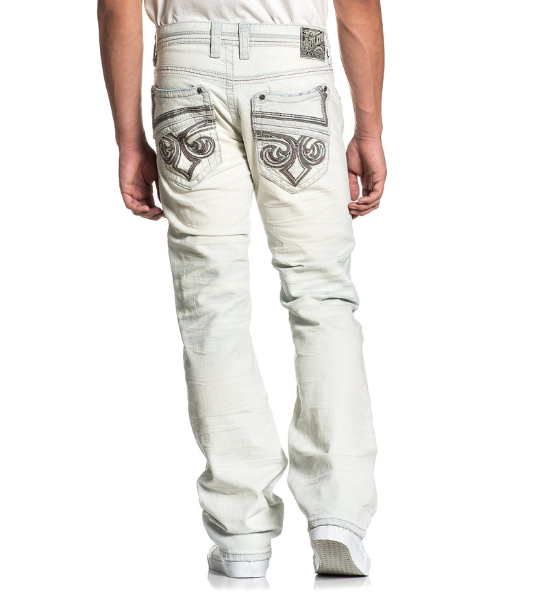 Blake Fleur Morris - Mens Denim Bottoms - Affliction Clothing