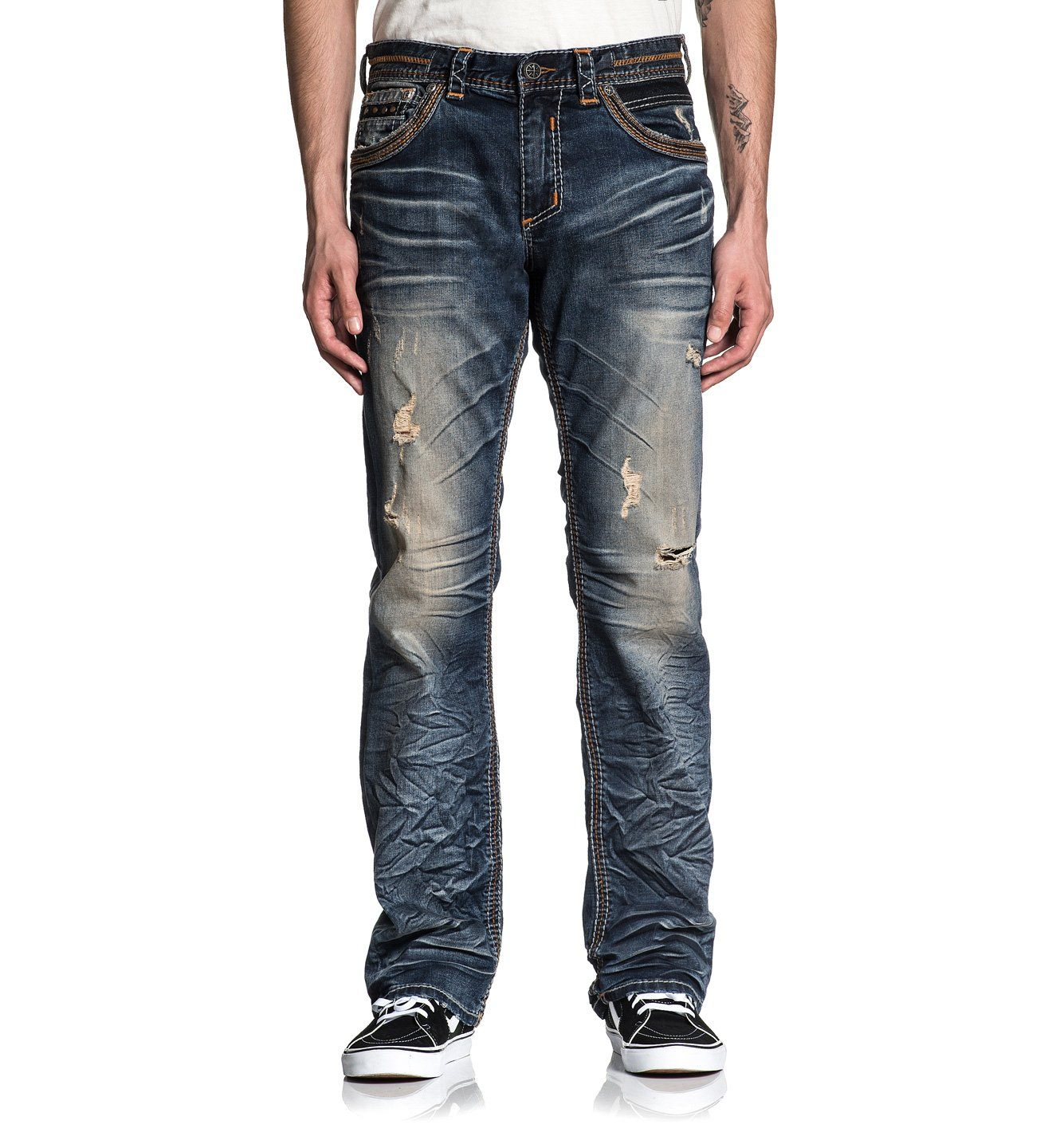 Mens Denim Bottoms - Blake Fleur Rogue