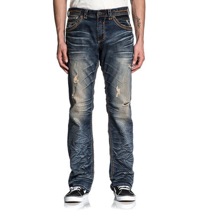Blake Fleur Rogue - Mens Denim Bottoms - Affliction Clothing