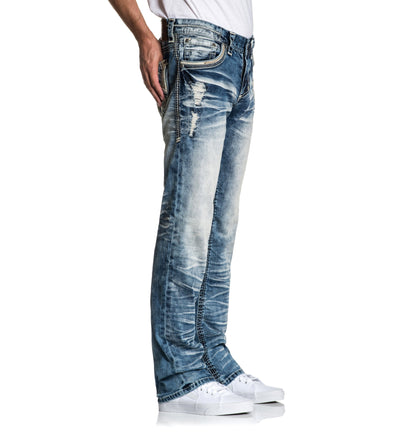 Mens Denim Bottoms - Blake Fleur Ruston