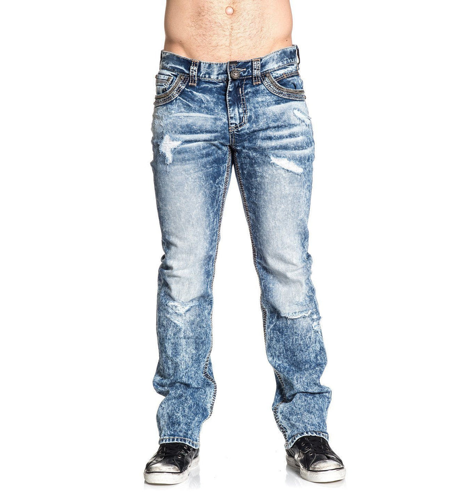 Mens Denim Bottoms - Blake Fleur Thomas