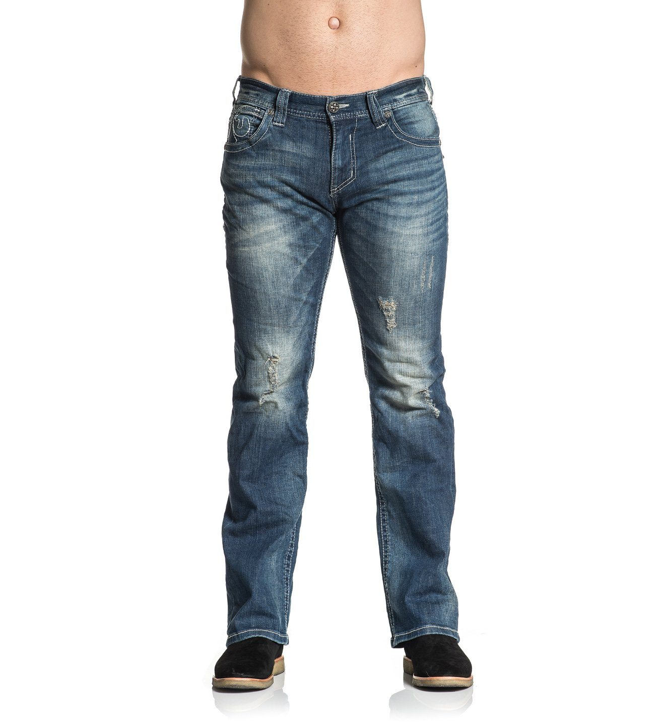 Cooper Republic - Mens Denim Bottoms - Affliction Clothing