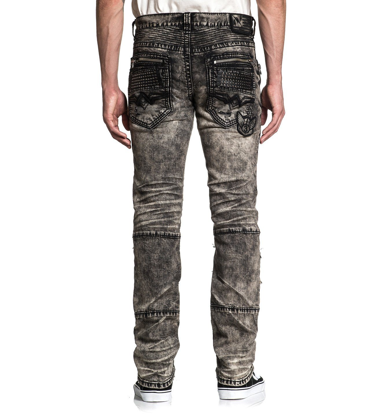 Gage Fallen Matador - Mens Denim Bottoms - Affliction Clothing