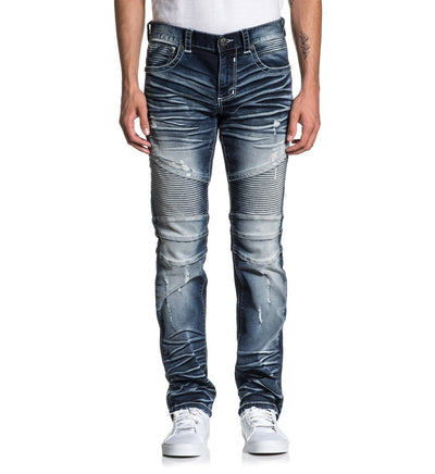 Gage Fleur Mayhem - Mens Denim Bottoms - Affliction Clothing